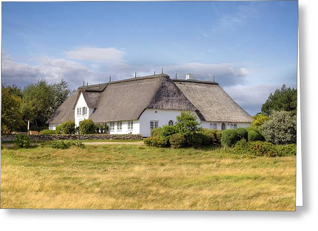 Thatch Greeting Cards - Munkmarsch - Sylt Greeting Card by Joana Kruse