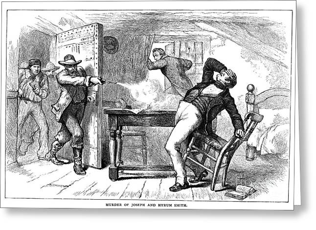 Discrimination Photographs Greeting Cards - Murder Of Smith, 1844 Greeting Card by Granger