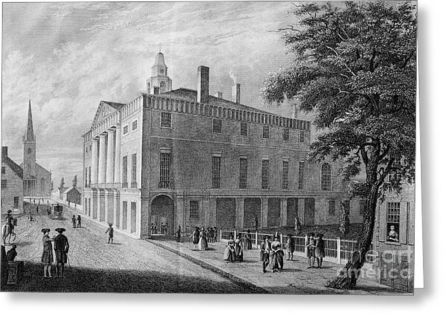 Federal Hall Greeting Cards - New York: Federal Hall Greeting Card by Granger