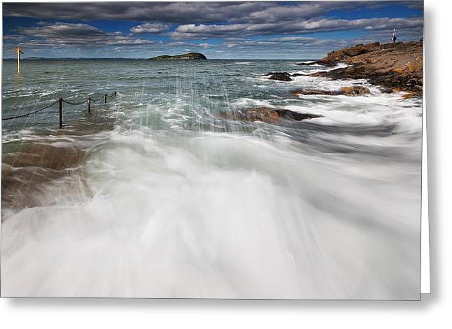 Caost Greeting Cards - North Berwick Greeting Card by Keith Thorburn LRPS
