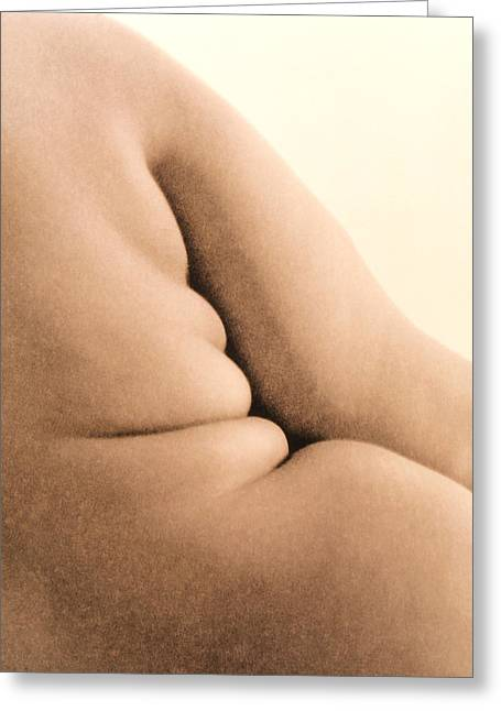 Eating Disorders Greeting Cards - Obesity Greeting Card by Cristina Pedrazzini