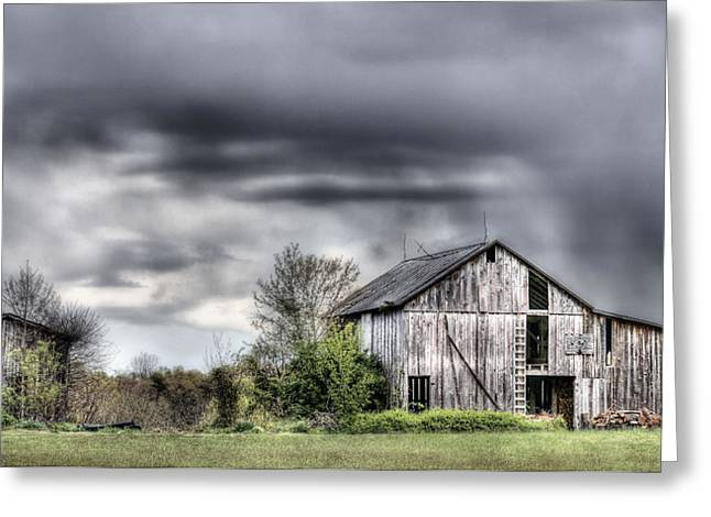 Fauquier County Greeting Cards - Ominous  Greeting Card by JC Findley