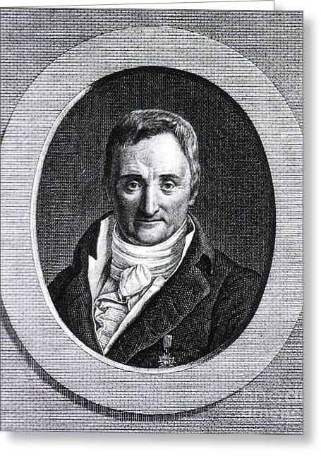Moral Greeting Cards - Philippe Pinel, French Physician Greeting Card by Science Source