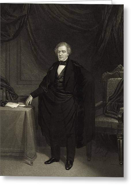 American Politician Greeting Cards - President Millard Fillmore Greeting Card by International  Images