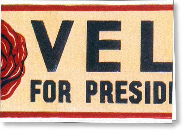 Rebus Greeting Cards - Presidential Campaign, 1932 Greeting Card by Granger