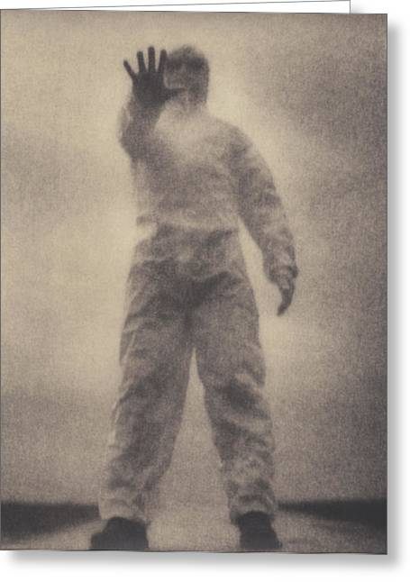 Terrorist Greeting Cards - Protective Clothing Greeting Card by Cristina Pedrazzini