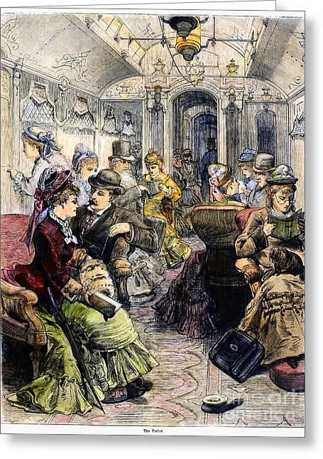 Pullman Car, 1876 Greeting Card by Granger