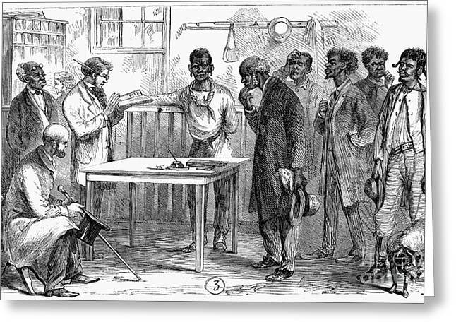 Voting Rights Greeting Cards - Reconstruction, 1867 Greeting Card by Granger