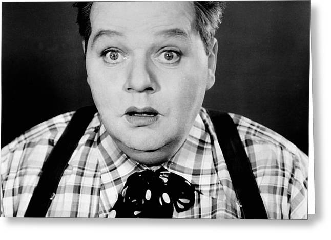 ROSCOE FATTY ARBUCKLE Greeting Card by Granger