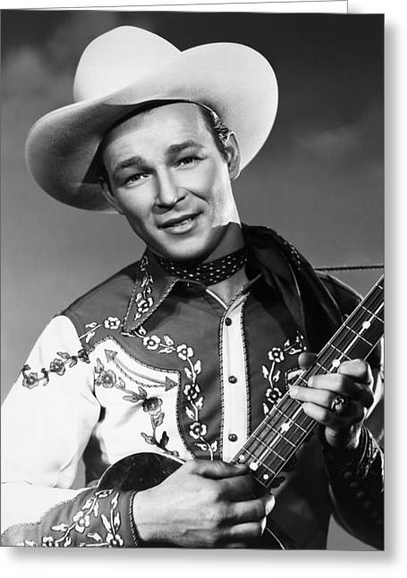 Rogers Greeting Cards - Roy Rogers Greeting Card by Granger