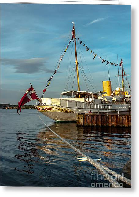 Kingship Greeting Cards - Royal Danish Kingship Greeting Card by Jorgen Norgaard