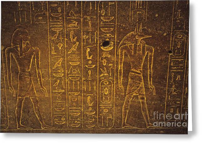 Enterprise Greeting Cards - Sarcophagus Exterior Greeting Card by Adam Crowley