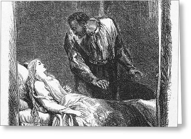 SHAKESPEARE: OTHELLO Greeting Card by Granger