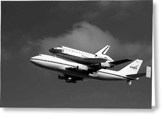Shuttle Endeavour Greeting Card by Jason Smith