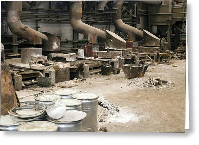 Silver Ore Greeting Cards - Silver Extraction Greeting Card by Dirk Wiersma