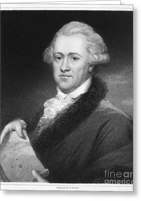 Recently Sold -  - 18th Century Greeting Cards - Sir William Herschel Greeting Card by Granger