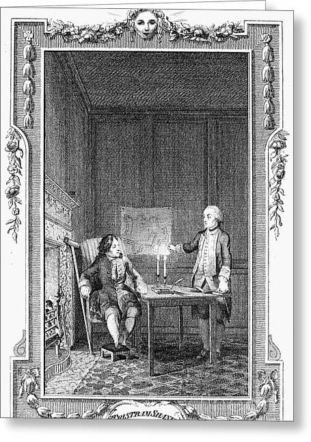 Sterne: Tristram Shandy Greeting Card by Granger