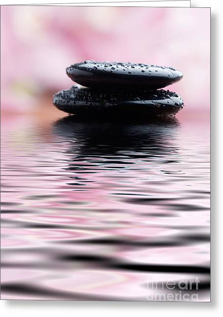 Wellbeing Greeting Cards - Stones Greeting Card by Kati Molin