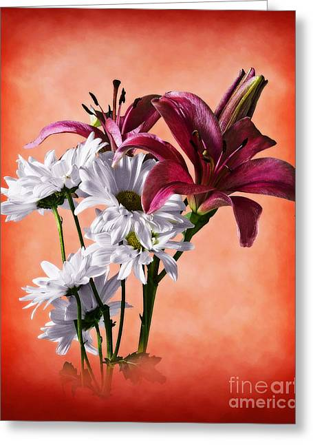 Springy Greeting Cards - Summer Wild Flowers  Greeting Card by Ed Churchill