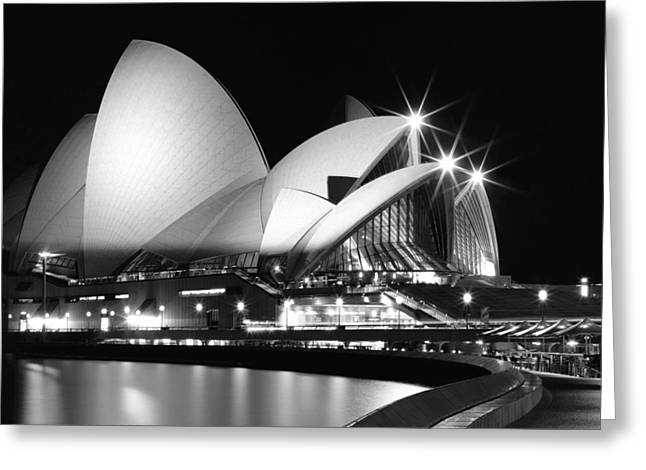 Joannes Greeting Cards - Sydney Opera House  Greeting Card by Thomas Joannes