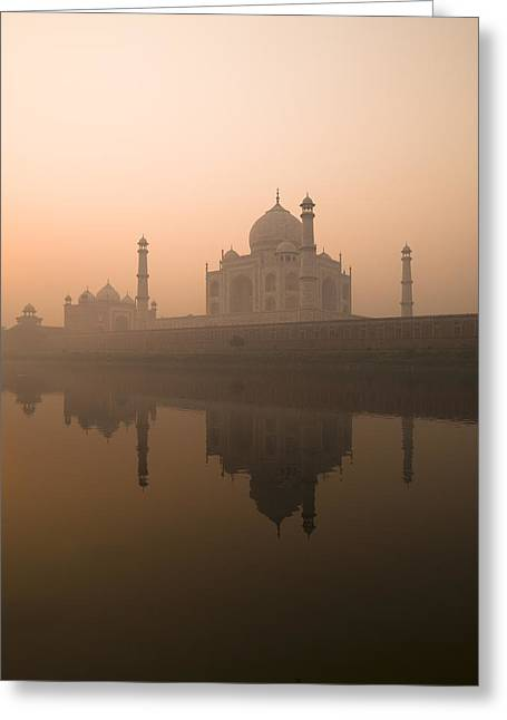 Belief Systems Greeting Cards - Taj Mahal, Agra, India Greeting Card by Keith Levit