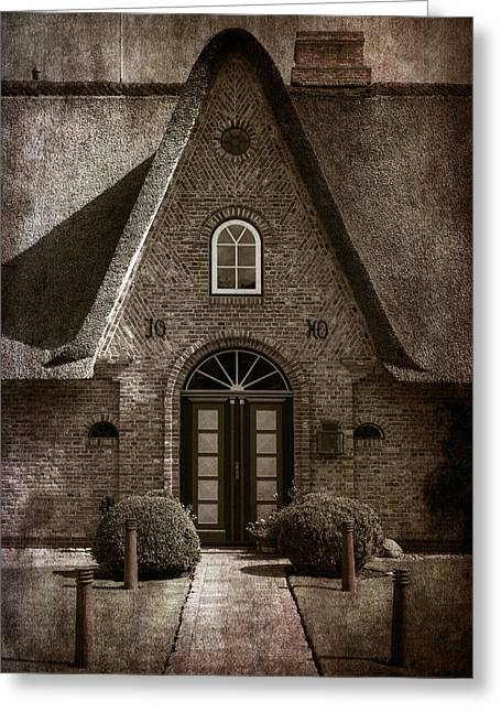 Houses Greeting Cards - Thatch Greeting Card by Joana Kruse