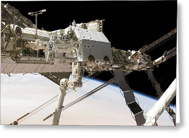 Dexterous Greeting Cards - The Canadian-built Dextre Robotic Greeting Card by Stocktrek Images
