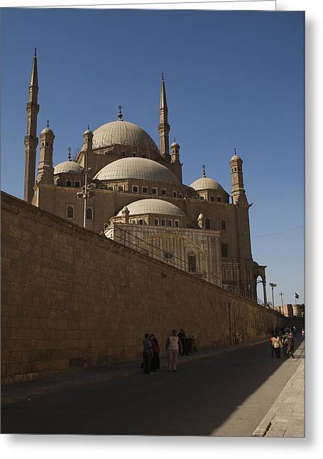 Mohammed Ali Greeting Cards - The Mosque Of Mohammed Ali In Saladins Greeting Card by Taylor S. Kennedy