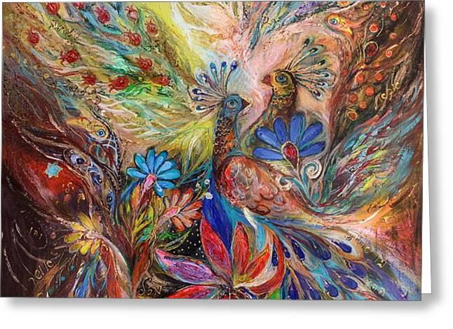 The three keys Greeting Card by Elena Kotliarker