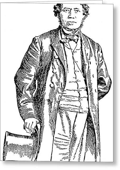 D.w. Greeting Cards - THOMAS DARCY McGEE Greeting Card by Granger