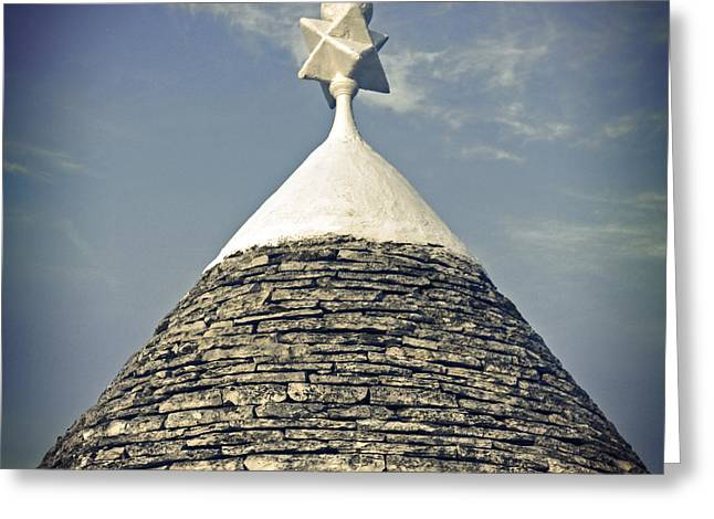 Trulli Greeting Cards - Trullo Greeting Card by Joana Kruse