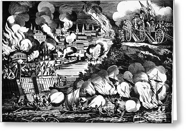 U.s Army Greeting Cards - Washington Burning, 1814 Greeting Card by Granger