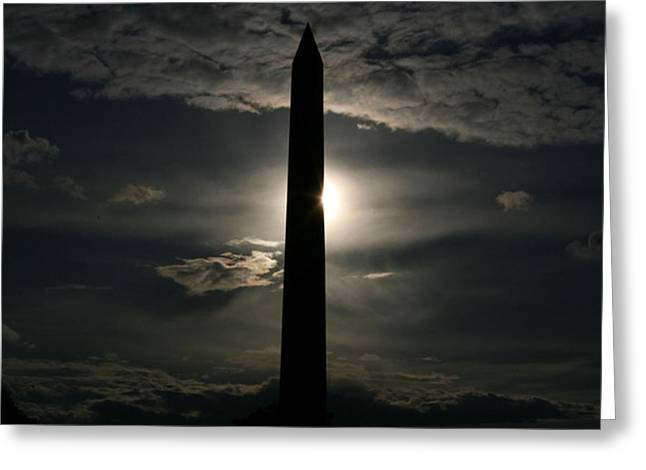 Stacy Bottoms Greeting Cards - Washington Monument Greeting Card by Stacy C Bottoms