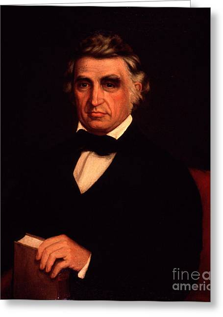 1833 Greeting Cards - William Beaumont, American Surgeon Greeting Card by Science Source