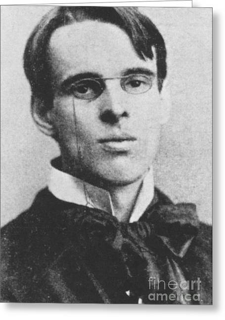 Dramatist Greeting Cards - William Butler Yeats Greeting Card by Photo Researchers