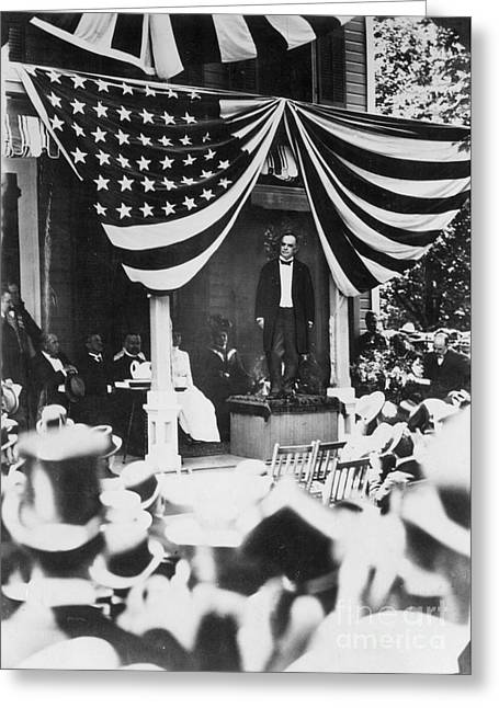 Nomination Greeting Cards - WILLIAM McKINLEY Greeting Card by Granger