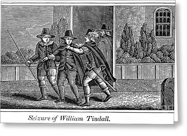 Reformer Greeting Cards - William Tyndale Greeting Card by Granger