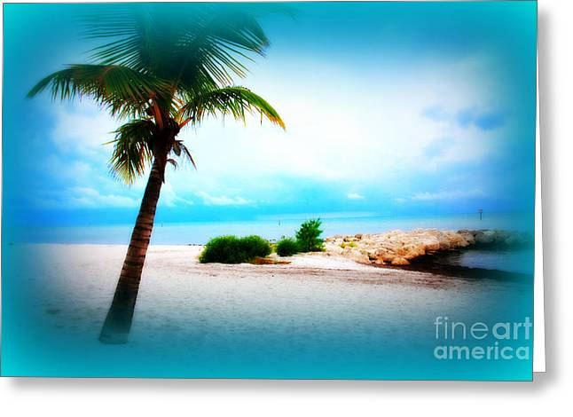 Key West Greeting Cards - Wish You Were Here Greeting Card by Susanne Van Hulst