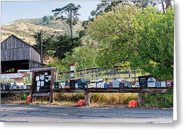 Marin County Greeting Cards - Sausalito Greeting Card by Carol Ailles