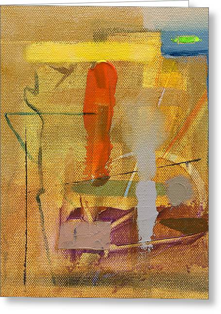Golds Paintings Greeting Cards - RCNpaintings.com Greeting Card by Chris N Rohrbach
