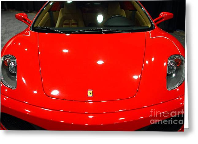 2006 Ferrari F430 Spider . 7D9383 Greeting Card by Wingsdomain Art and Photography