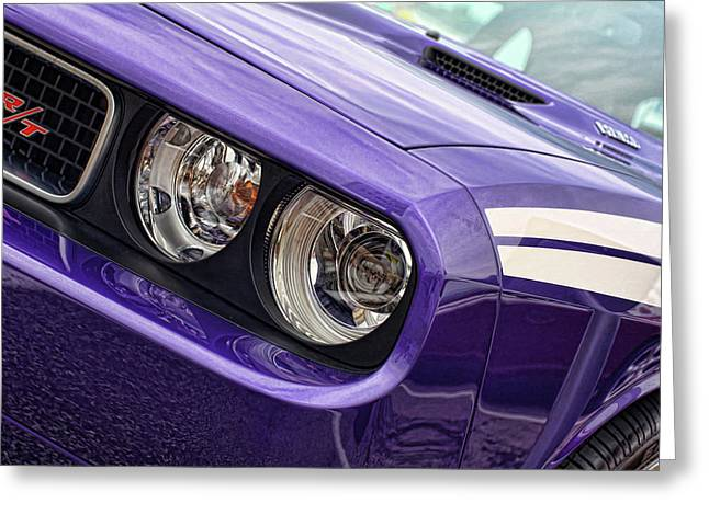 Alcoa Greeting Cards - 2011 Dodge Challenger RT Greeting Card by Gordon Dean II