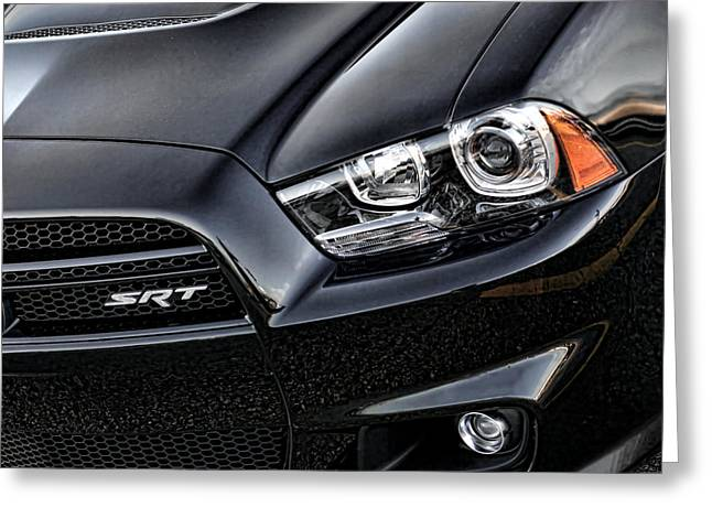 2012 Dodge Charger Srt8 Greeting Card by Gordon Dean II