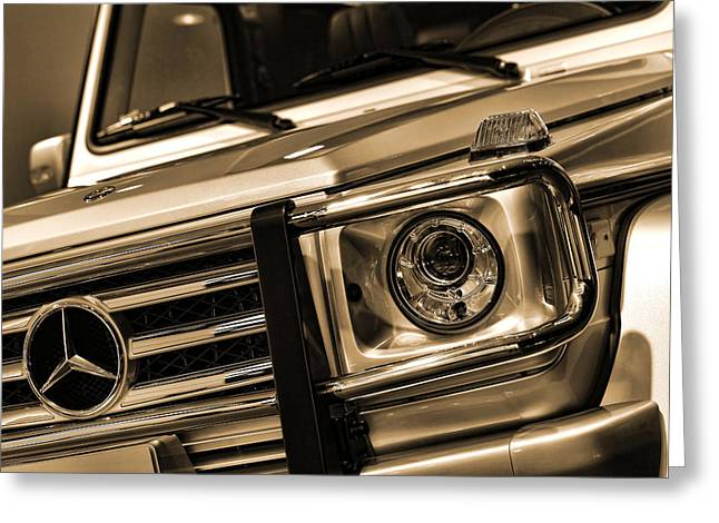 2012 Digital Art Greeting Cards - 2012 Mercedes Benz G-Class Greeting Card by Gordon Dean II