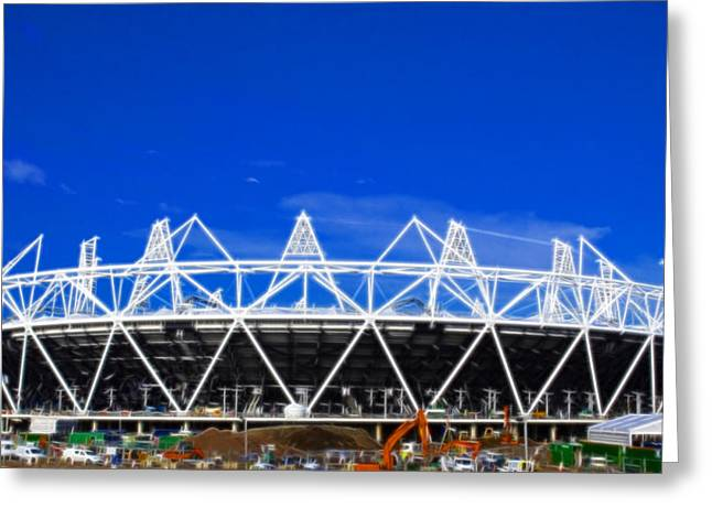 2012 Olympics London Greeting Card by David French