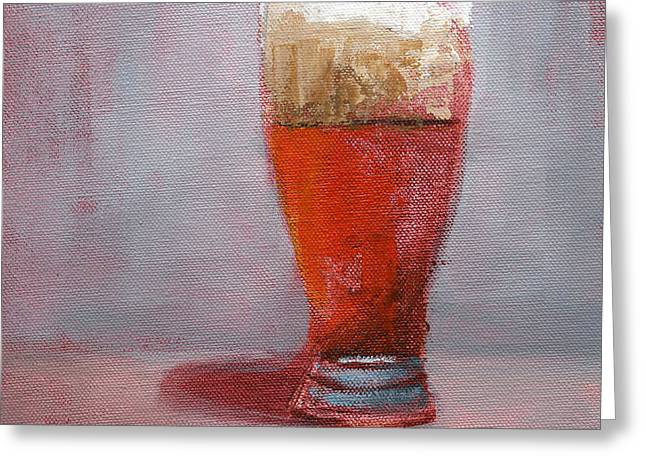 Beer Paintings Greeting Cards - RCNpaintings.com Greeting Card by Chris N Rohrbach