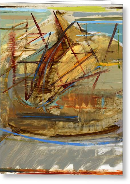 Friends Greeting Cards - RCNpaintings.com Greeting Card by Chris N Rohrbach