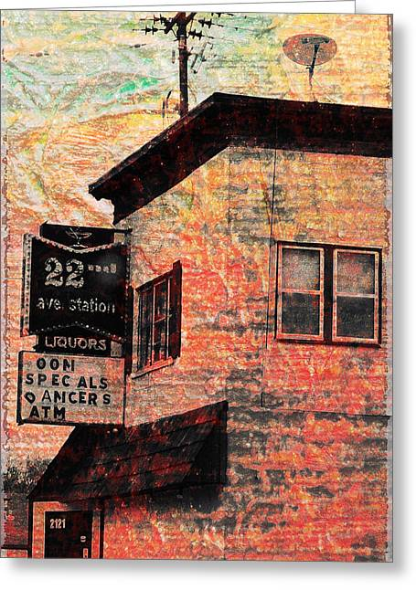Minnesota Photo Greeting Cards - 22nd Station Greeting Card by Susan Stone