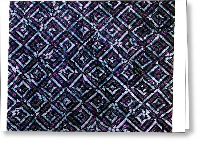 Bass Tapestries - Textiles Greeting Cards - 23 Greeting Card by Mildred Thibodeaux