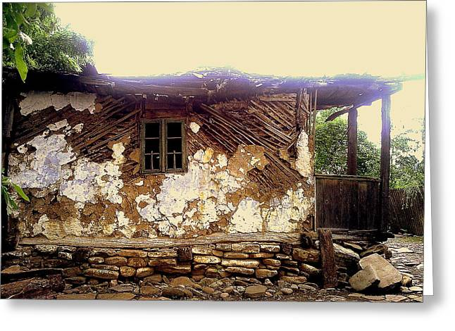 230 Years Old House Greeting Card by Romeo Popescu